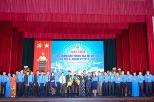 Ông Đỗ Nga Việt tái đắc cử Chủ tịch Công đoàn GTVT VN khóa X