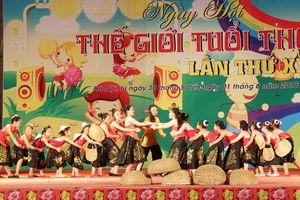 Ngày hội 'Thế giới tuổi thơ': sân chơi văn hóa, giải trí đặc sắc cho thiếu nhi