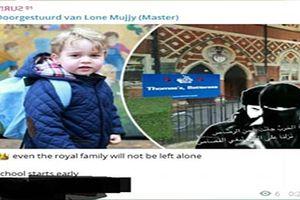 IS tung ảnh 'lạnh người' dọa giết Hoàng tử nhí nước Anh