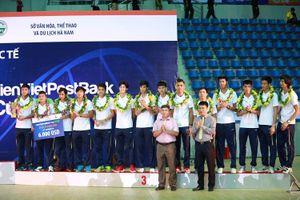 Đánh bại Kazakhstan, đội tuyển bóng chuyền nam Việt Nam giành hạng 3