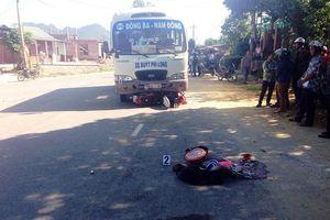 Xót xa cả nhà gặp thảm nạn trước đầu xe ô tô khách