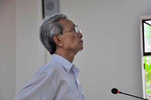 Hủy bản án phúc thẩm xử ông Nguyễn Khắc Thủy tù treo