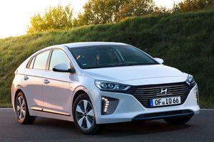 Hyundai nâng cấp xe hybrid và xe điện Ioniq