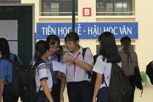 TP.HCM: Hơn 500 thí sinh vắng mặt trong ngày đầu tiên của kỳ thi vào lớp 10