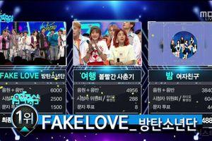 Rinh cúp không ngừng nghỉ, BTS tiếp tục phá đảo sân khấu Music Core với điểm số tuyệt đối