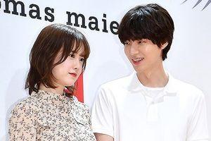 'Nàng cỏ' Goo Hye Sun tình tứ sánh đôi cùng chồng trẻ