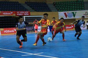 Futsal HDBank VĐQG 2018: Hải Phương Nam ĐHGĐ vô địch lượt đi