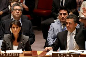 Mỹ bác nghị quyết Hội đồng Bảo an về bạo lực nhằm vào người Palestine