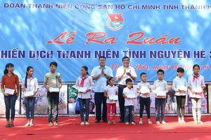 Hơn 1000 ĐVTN ra quân chiến dịch thanh niên tình nguyện hè