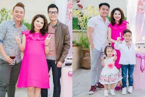 Thanh Thảo bày tiệc 'Baby shower' chào đón con gái đầu lòng