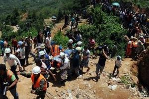 Indonesia: Lở đất tại mỏ khai thác vàng, 6 người thiệt mạng