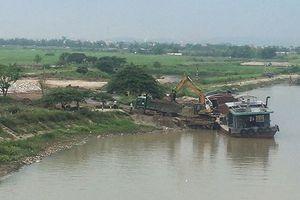 Hải Dương: Bãi vật liệu xây dựng phớt lờ lệnh cấm