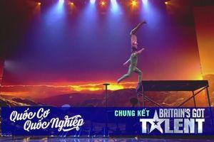 Quốc Cơ-Quốc Nghiệp và cú nhảy 'cảm tử' tại chung kết Britain's Got Talent