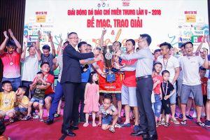 Thanh Hóa lên ngôi vô địch giải báo chí miền Trung lần thứ V