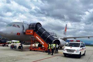Hành khách ngất xỉu, máy bay đi Đà Lạt phải hạ cánh khẩn cấp ở Đà Nẵng