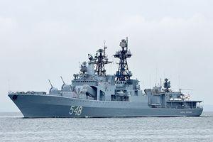 Soi sức mạnh tàu chiến Nga sắp diễn tập chung với VN