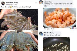 Chỉ đăng bức ảnh thích ăn tôm, Xuân Trường U23 được đồng đội có tâm chế biến cả bàn đồ ăn siêu bắt mắt