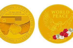 Huy chương lưu niệm hội nghị Mỹ-Triều của Singapore có gì đặc biệt?