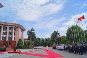 Bộ trưởng Quốc phòng Việt Nam - Canada hội đàm tại Hà Nội