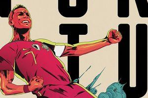 Bộ poster cổ động World Cup 2018 đẹp lộng lẫy