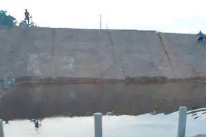 Hai chị em tử vong dưới cống nước công trình đang thi công