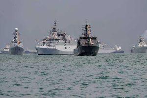 Trung Quốc bị tố do thám tàu chiến Ấn Độ vừa thăm Việt Nam