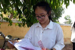 Hà Tĩnh: Đề thi môn Ngữ văn được thí sinh đánh giá 'dễ thở'
