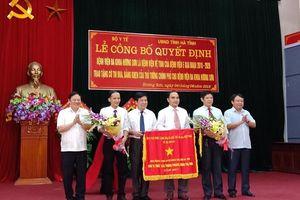 Bệnh viện Đa khoa Hương Sơn trở thành bệnh viện vệ tinh của Bệnh viện E