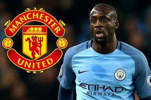 Yaya Toure nhận lương 1 bảng/tuần để làm học trò Mourinho?