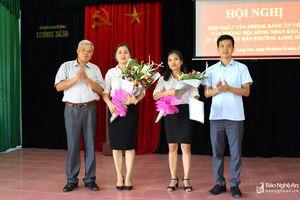 Đơn vị đầu tiên ở Thái Hòa hợp nhất Văn phòng Đảng ủy, HĐND, UBND