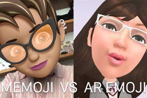 So sánh Memoji trên iOS 12 với AR Emoji trên Galaxy S9