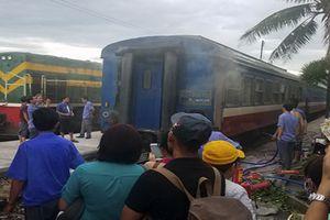 Phúc Yên: Cháy toa tàu, hàng trăm hành khách hốt hoảng bỏ chạy