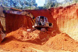 Doanh nghiệp thừa nhận khai thác đất sét trái phép