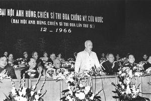 Hơn 200 tư liệu quý trong triển lãm 'Chủ tịch Hồ Chí Minh với phong trào thi đua yêu nước'