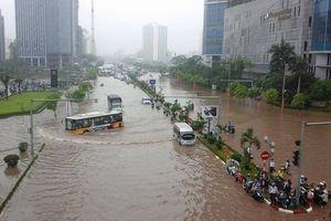 Người dân Hà Nội có thể tra điểm ngập lụt qua smartphone