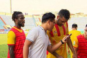 CLB Nam Định thử việc chân sút Brazil