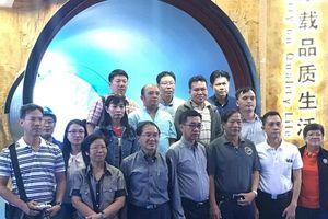 Bộ Thủy lợi Hoàng Gia Thái Lan (RID) đến thăm quan nhà máy Vu Hồ - Công ty ống gang cầu Xinxing