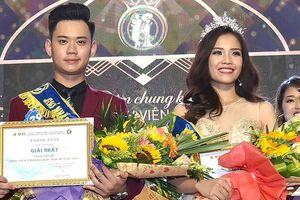 Cặp đôi đẹp nhất giành giải Hoa khôi - Nam vương Giao thông vận tải
