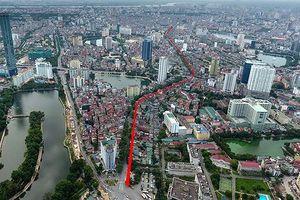 Hà Nội sắp khởi công Đường vành đai 1 đoạn Hoàng Cầu - Voi Phục