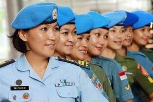 Phụ nữ sẽ hiện diện nhiều hơn trong lực lượng gìn giữ hòa bình