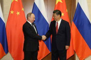 Tổng thống Nga khẳng định Trung Quốc là đối tác thương mại số 1