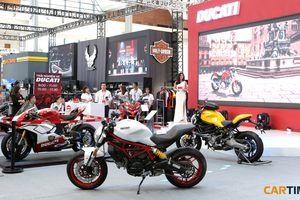 Cận cảnh gian hàng Ducati tại Vietnam AutoExpo 2018