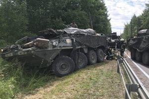 Chưa kịp tập trận, Quân đội Mỹ đã chịu thương vong ở Litva