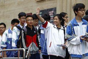 10 triệu học sinh Trung Quốc bước vào kỳ thi ĐH khốc liệt