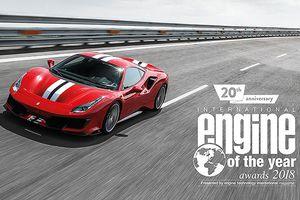 Ferrari giành giải thưởng Động Cơ của năm 2018