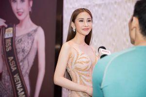 Người đẹp Chi Nguyễn đại diện Việt Nam tham gia Hoa hậu Châu Á Thế giới 2018