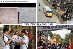 Tin tức Hà Nội 24h: Thực hư đề xuất mở làn riêng cho xe buýt thường