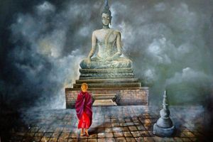 Ông lão lặn lội 10 năm đến gặp đức Phật để hiểu rõ về tội nghiệp