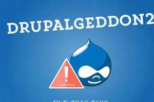 Trên 32% website Drupal tại Việt Nam chưa được khắc phục lỗ hổng Drupalgeddon2