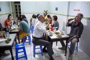 Ông Obama hồi tưởng bữa ăn bún chả Việt Nam với đầu bếp Anthony